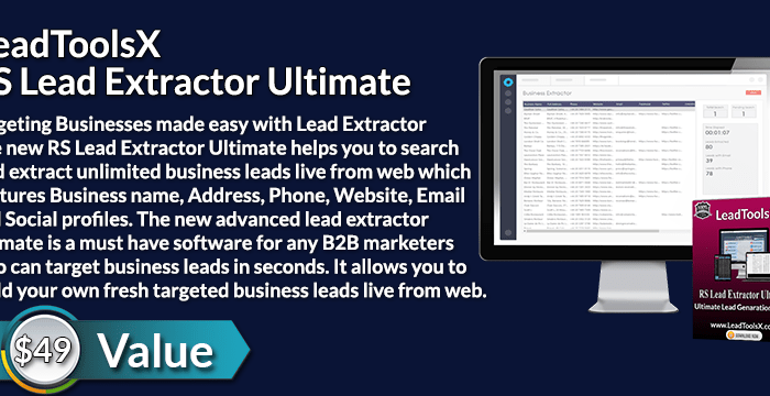 LeadToolsX RS Lead Extractor Ultimate