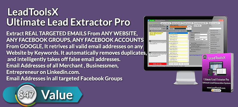 LeadToolsX Ultimate Lead Extractor Pro