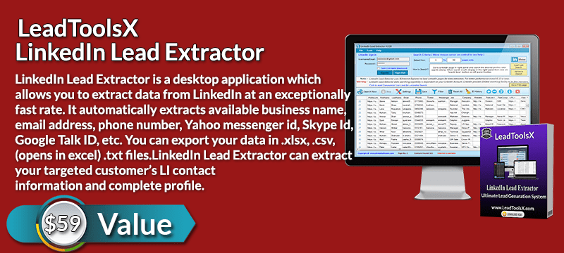 LeadToolsX LinkedIn Lead Extractor