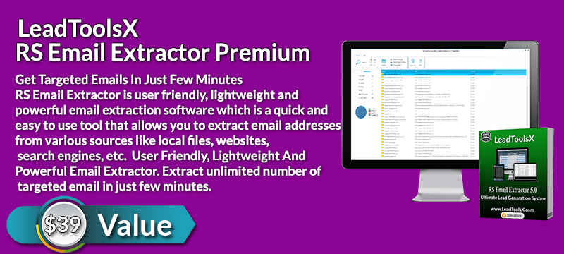 RS Email Extractor Premium